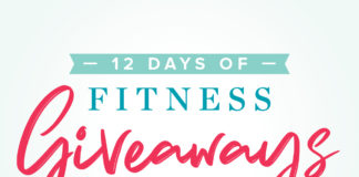 12 Days of Fitness Giveaways Header