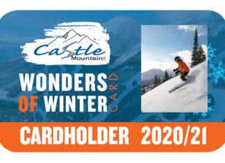 Castle Mountain Resort - W.O.W. Card