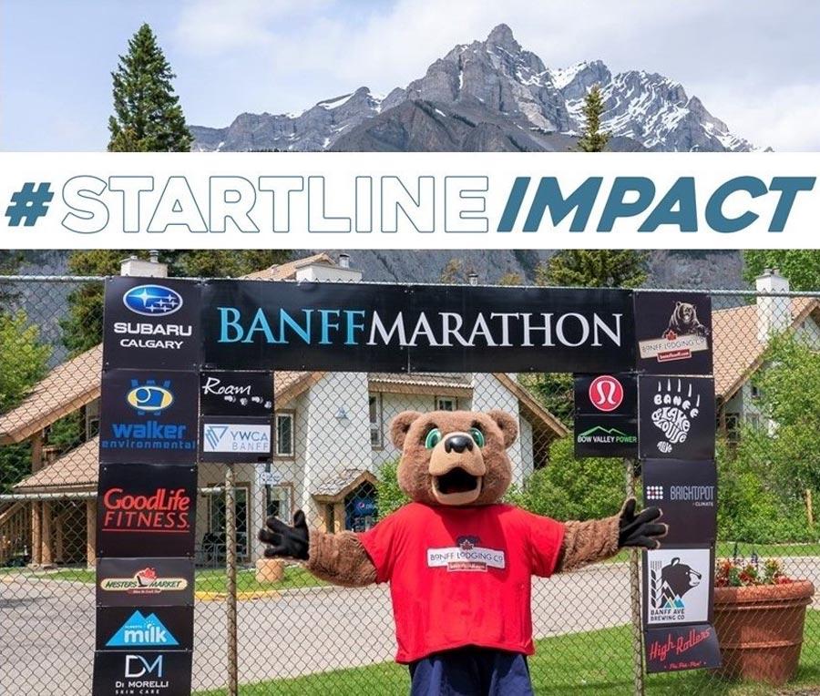 Banff Marathon #STARTLINEIMPACT