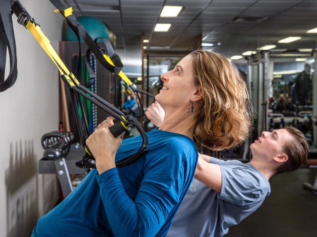 Calgary Realtors Veronica Palin and her son Michael Palin