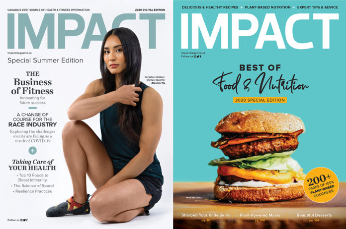 IMPACT Magazine Covers
