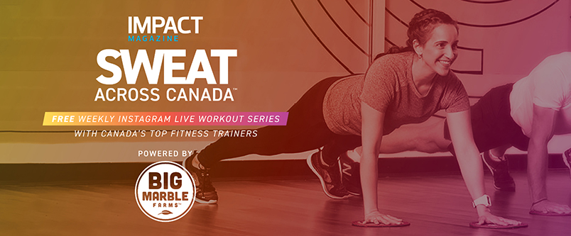 Sweat Accross Canada Banner