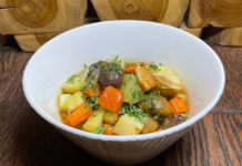 Roasted Parsnip & Chestnut Stew