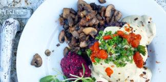 Wild Mushroom Forbidden Rice Risotto