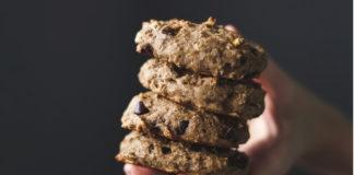 Vegan Banana Bread Breakfast Cookies